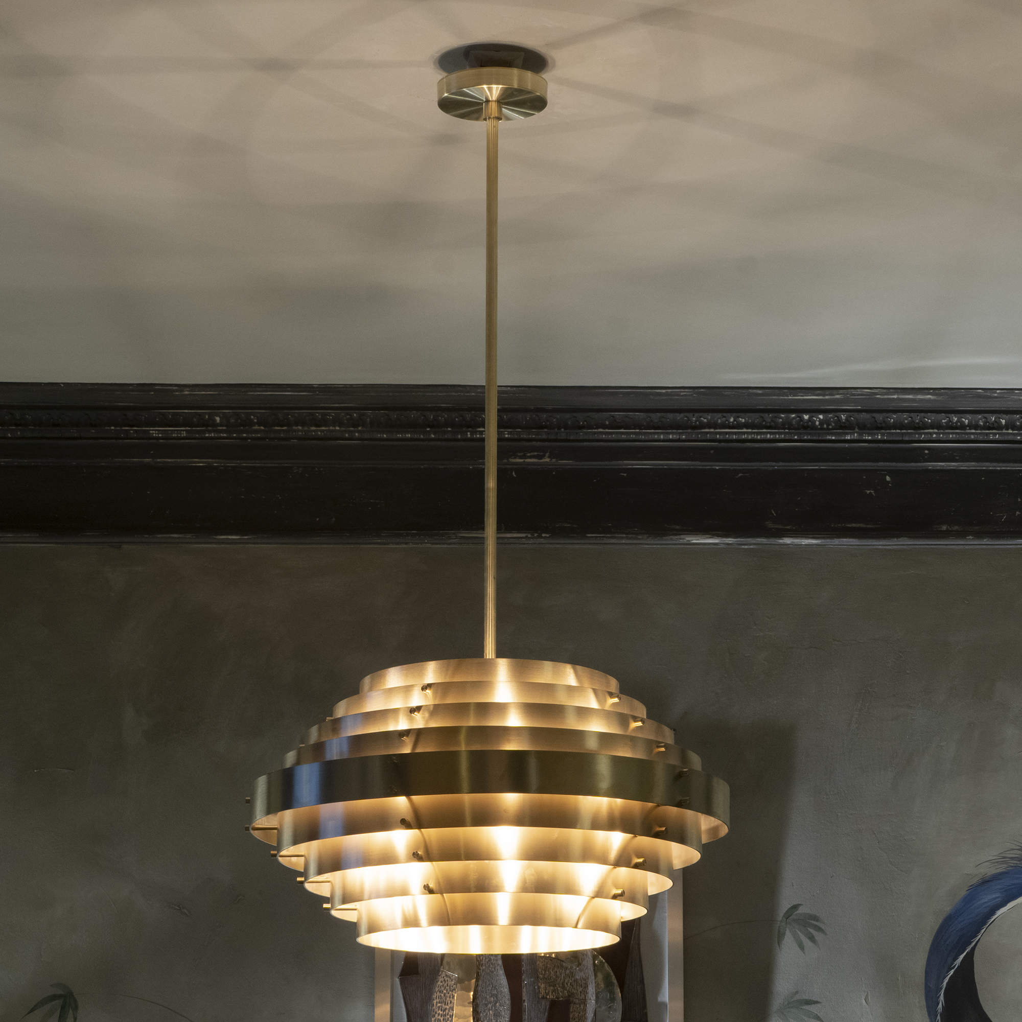 ''Saturn'' Ceiling Lamp