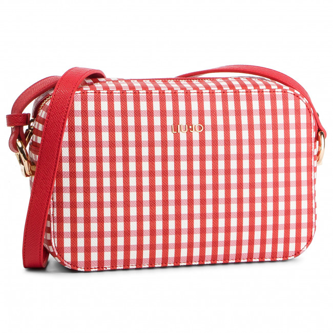 Red Checker Purse Liu Jo  %Scontato -50% Per Covid