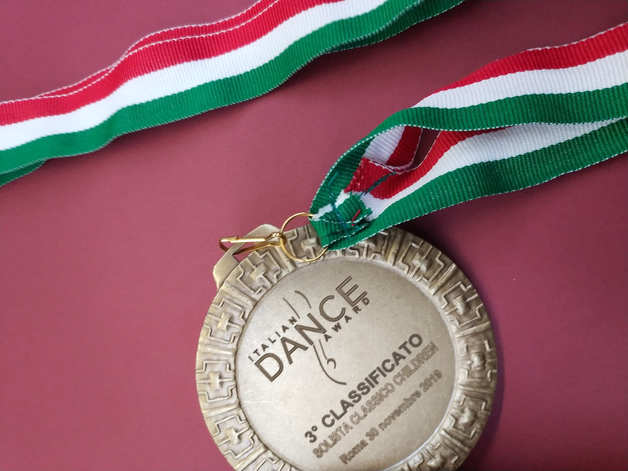 Terzo Classificato al prestigioso Italian Dance Award 2019