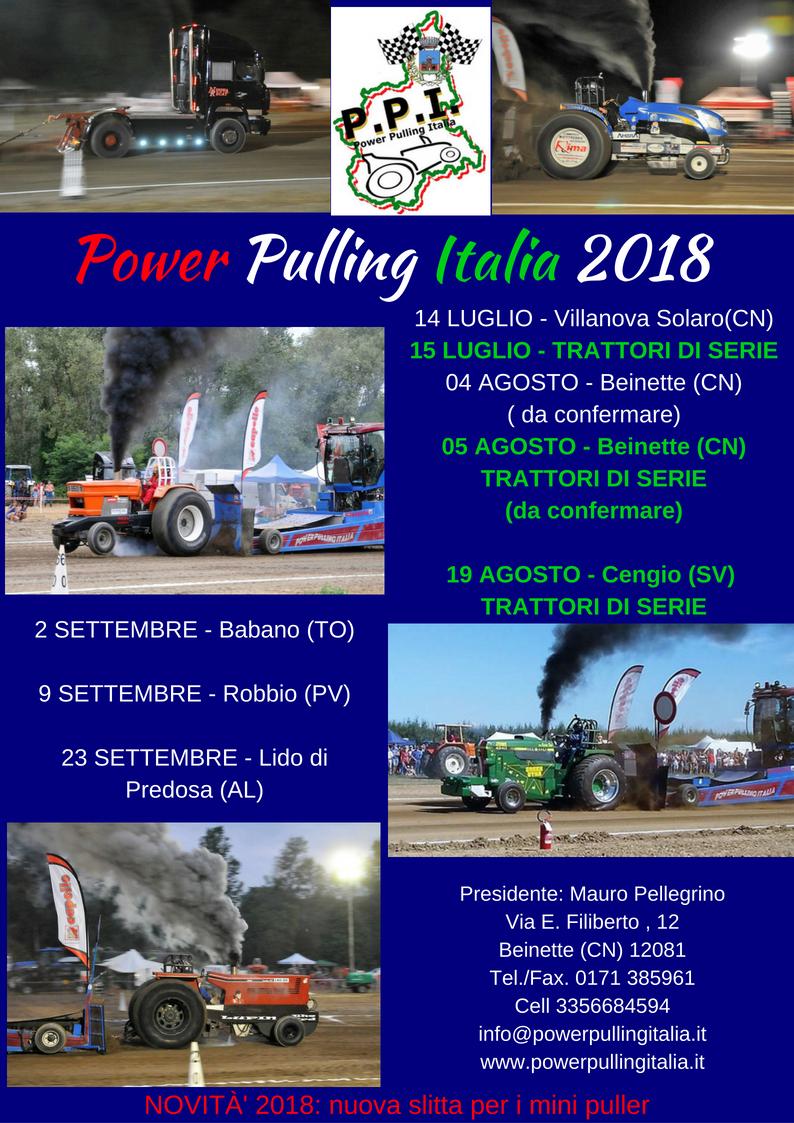 Tractor Pulling Italia 2020 Calendario.Home Page