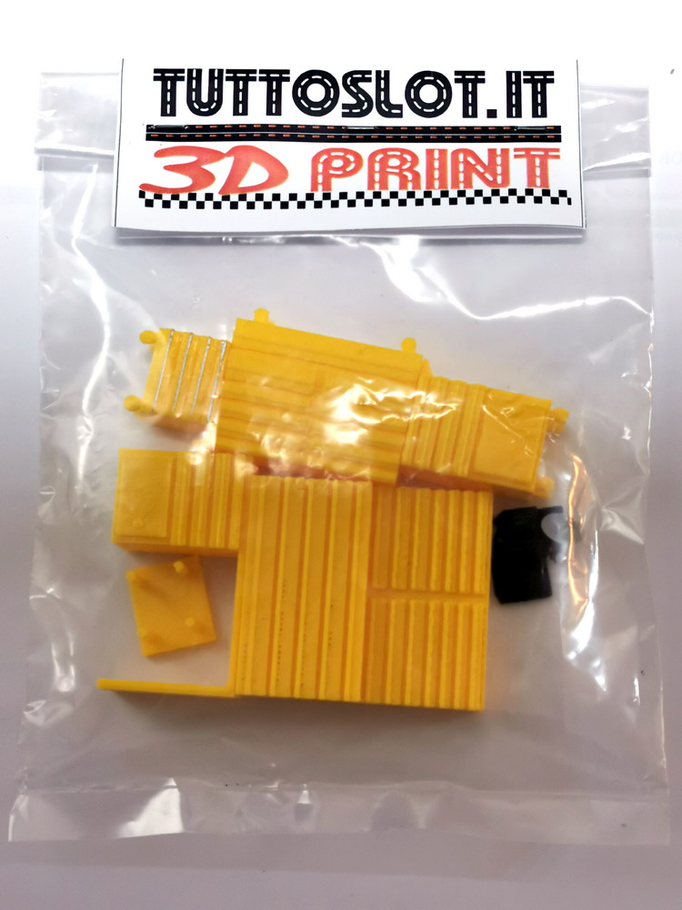 Accessori box nr. 10 pz scala 1:32 - Box tools n. 10 pcs 1:32 scale