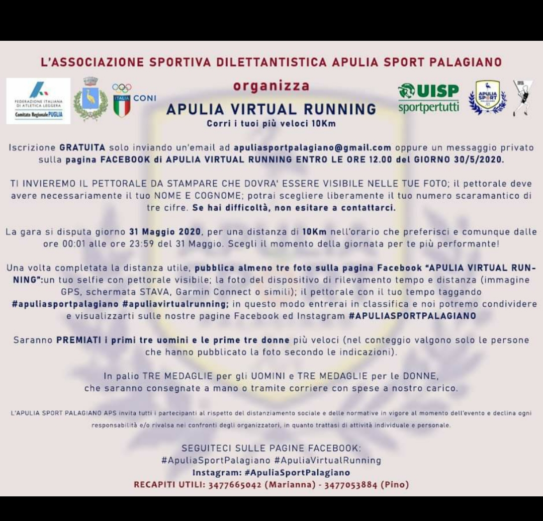 10 km. virtuale interna