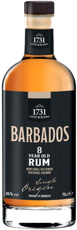 1731 BARBADOS 8 Year Old Rum 46%