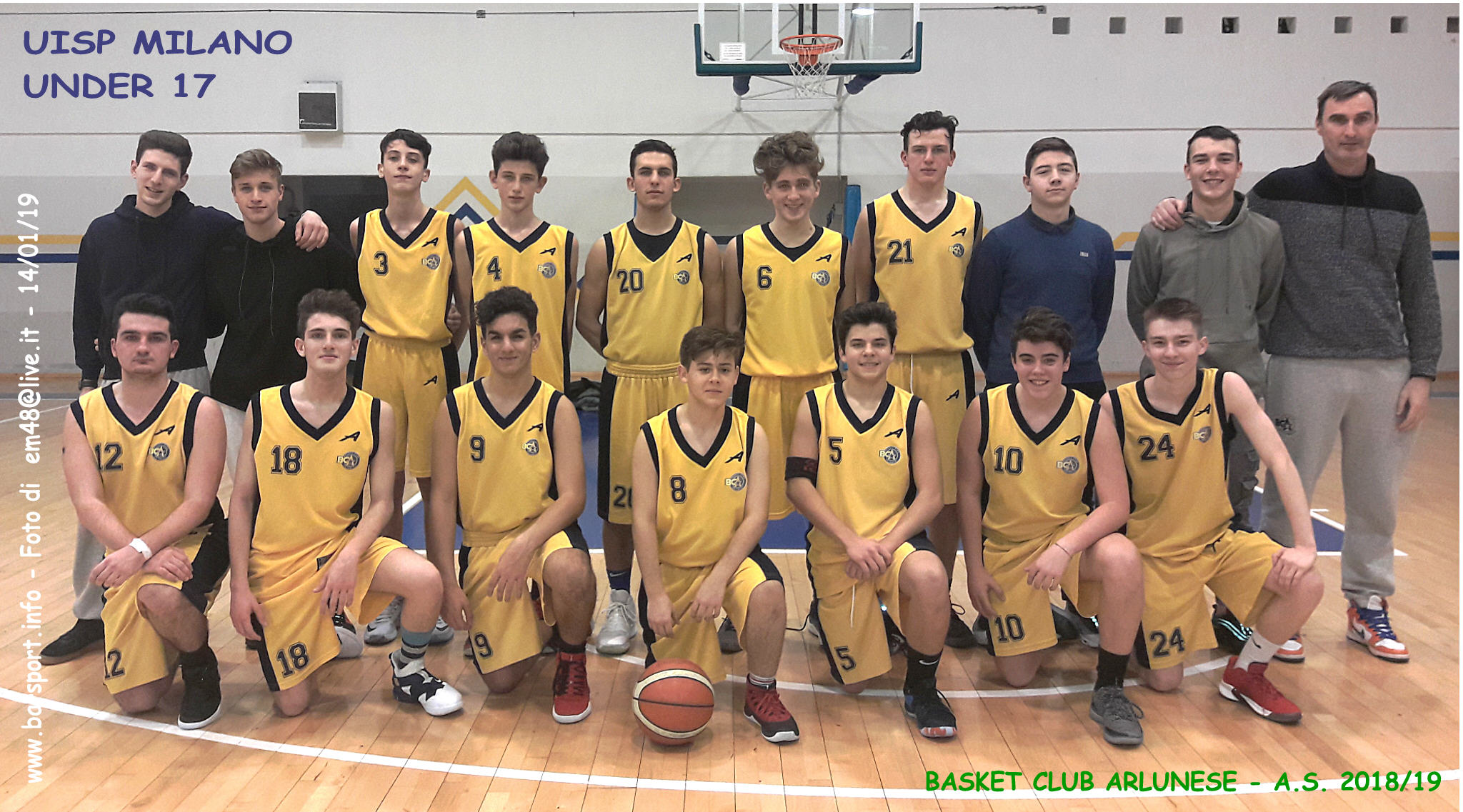 Uisp Basket Milano Calendario.Under 17 Uisp