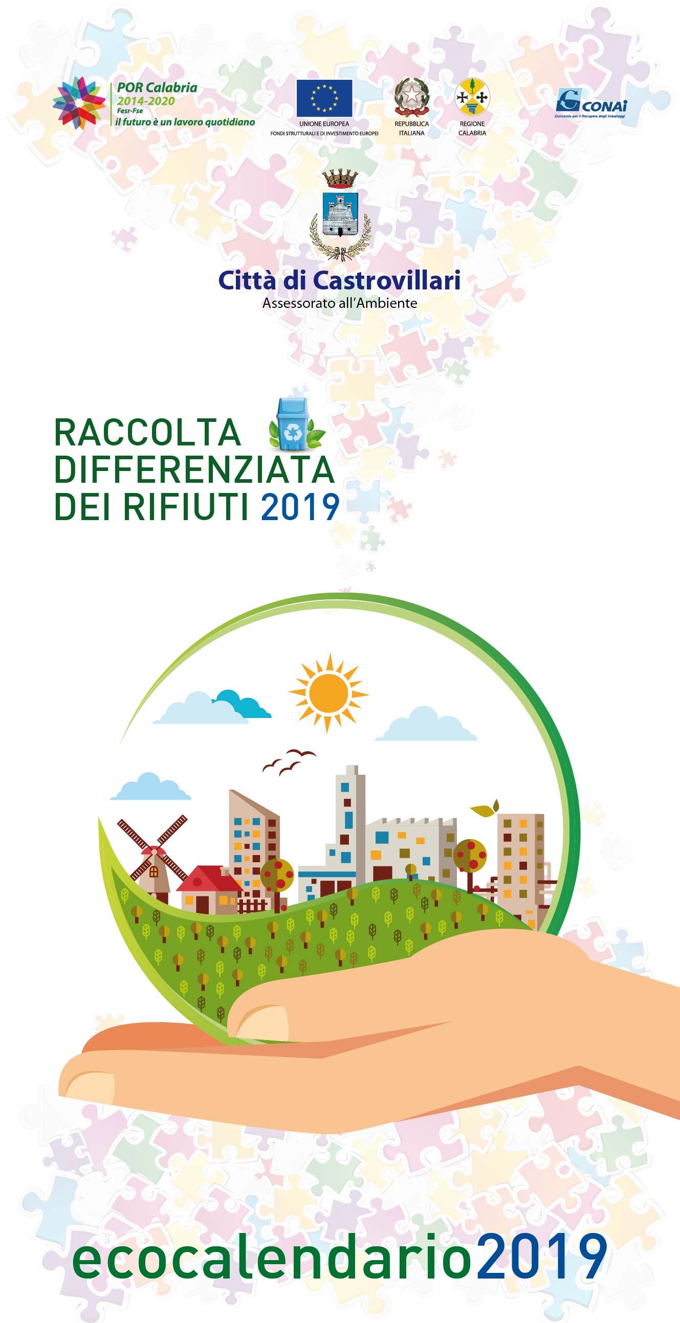 Polito Calendario 2020.Castrovillari Arriva Il Calendario 2019 Per La Raccolta