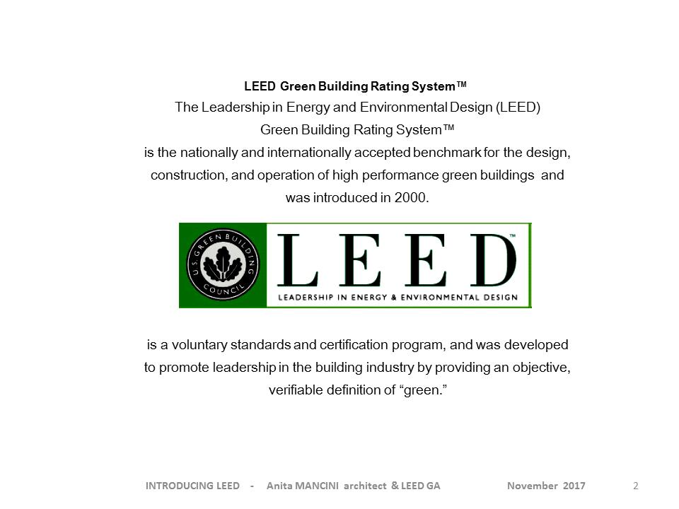 Leed Certification Achitecture And Engineering Studio