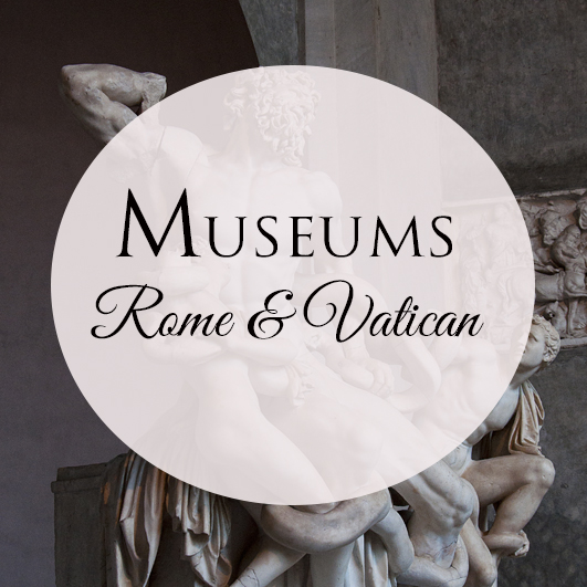 visit the Vatican Museums and the museums of Rome