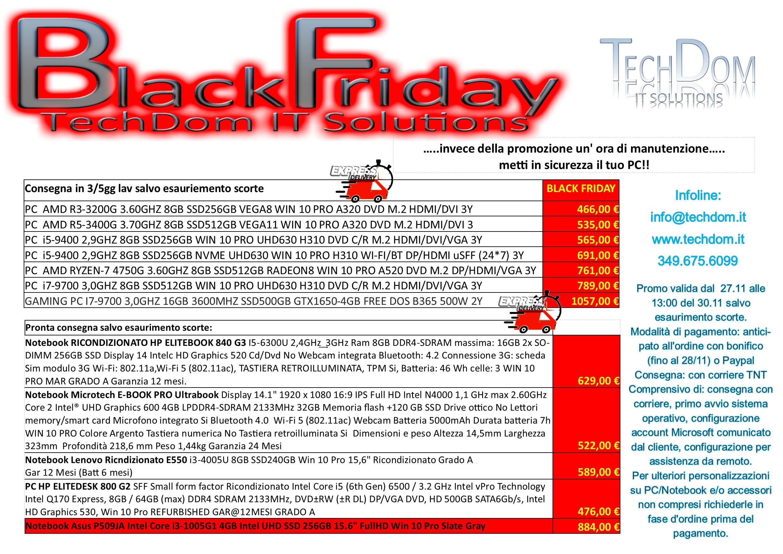 Black Friday TechDom