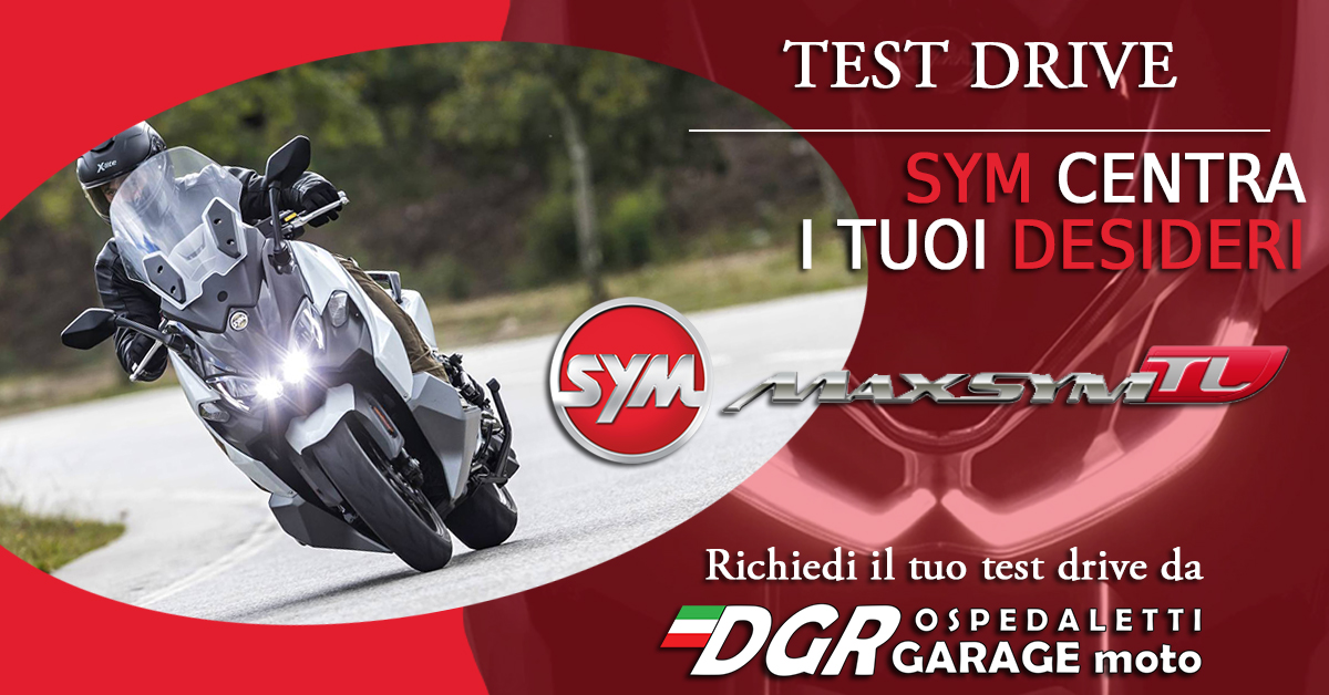 Test Ride SYM Maxsym TL1