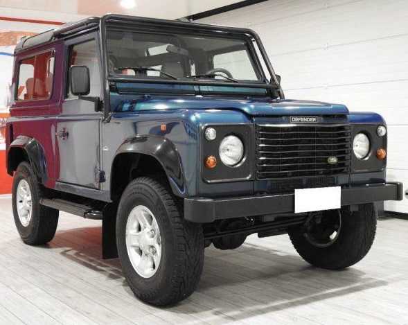 1998 LAND ROVER DEFENDER V8 LHD AUTO 50TH
