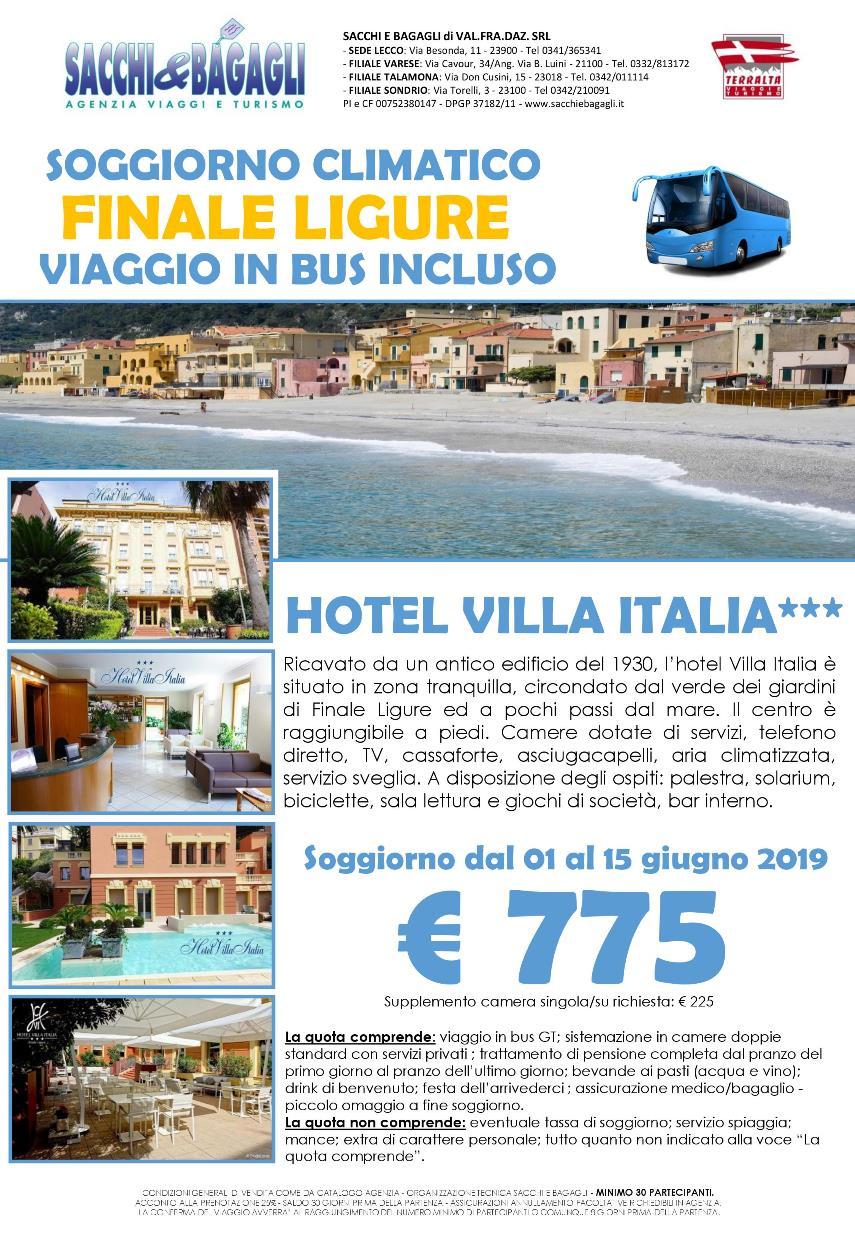 Soggiorno climatico per gruppi in Liguria - Finale Ligure ...