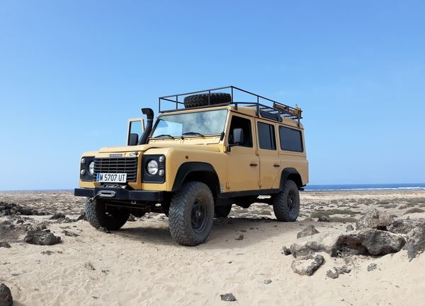 1997 LAND ROVER DEFENDER 110 300TDI LHD