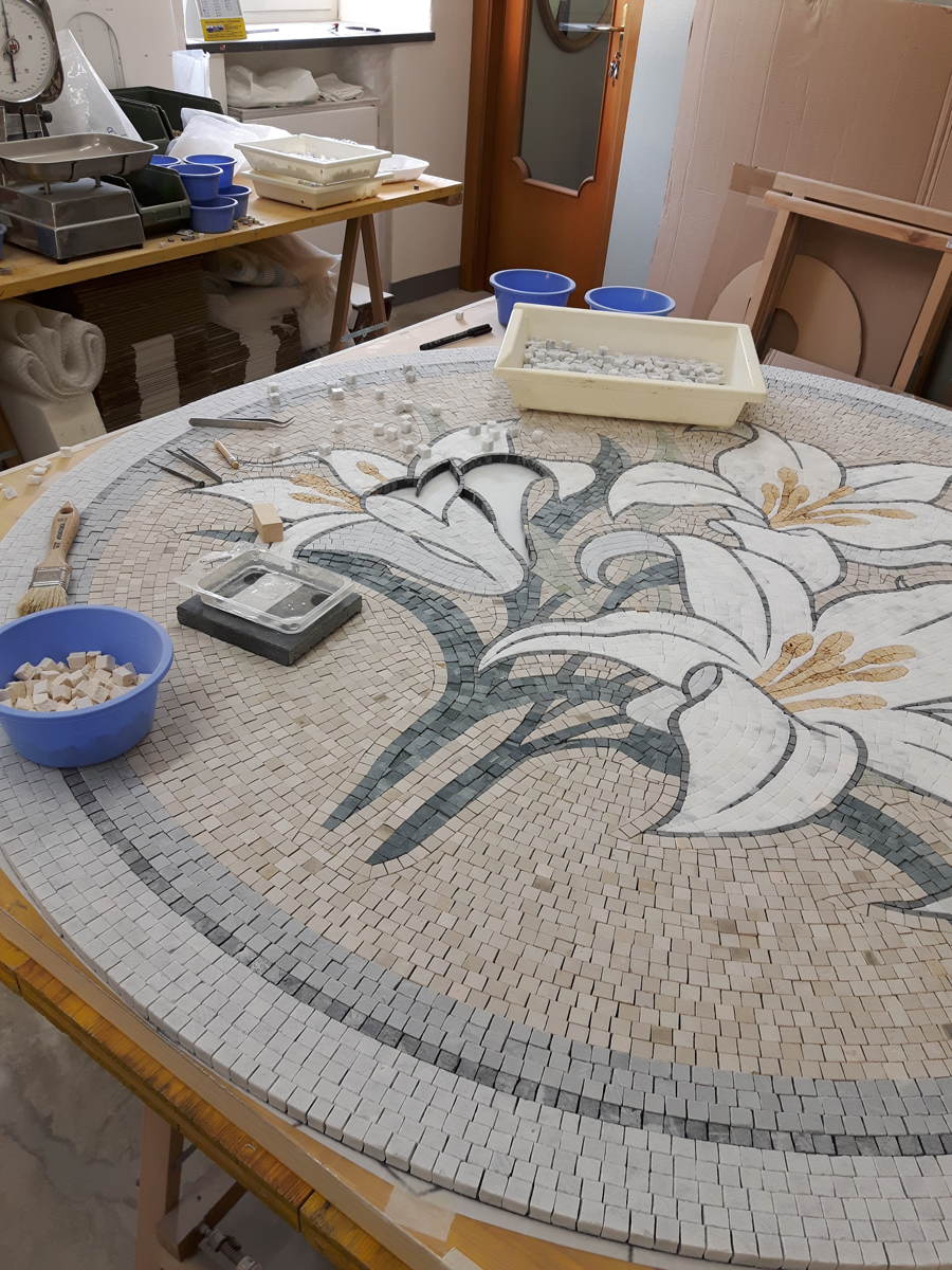Working in progress - Lilies