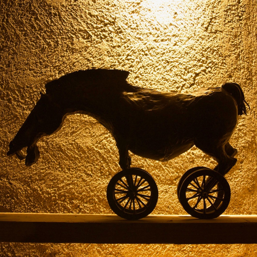 Nr. 54 - HORSE ON WHEELS