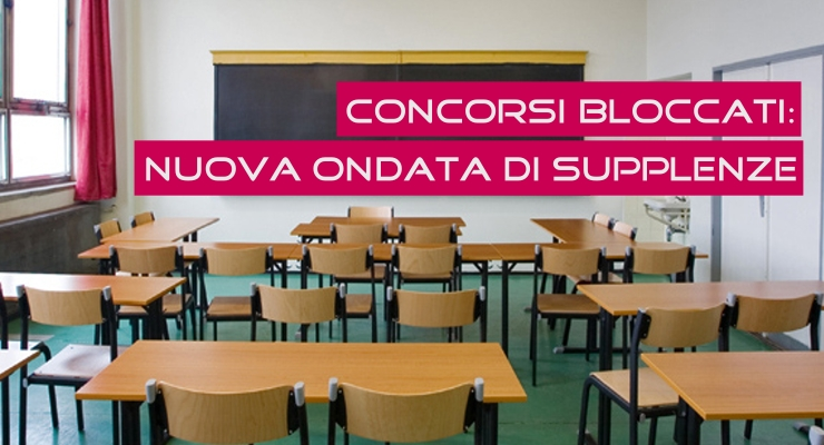 Concorsi Bloccati: Nuova ondata di Supplenze