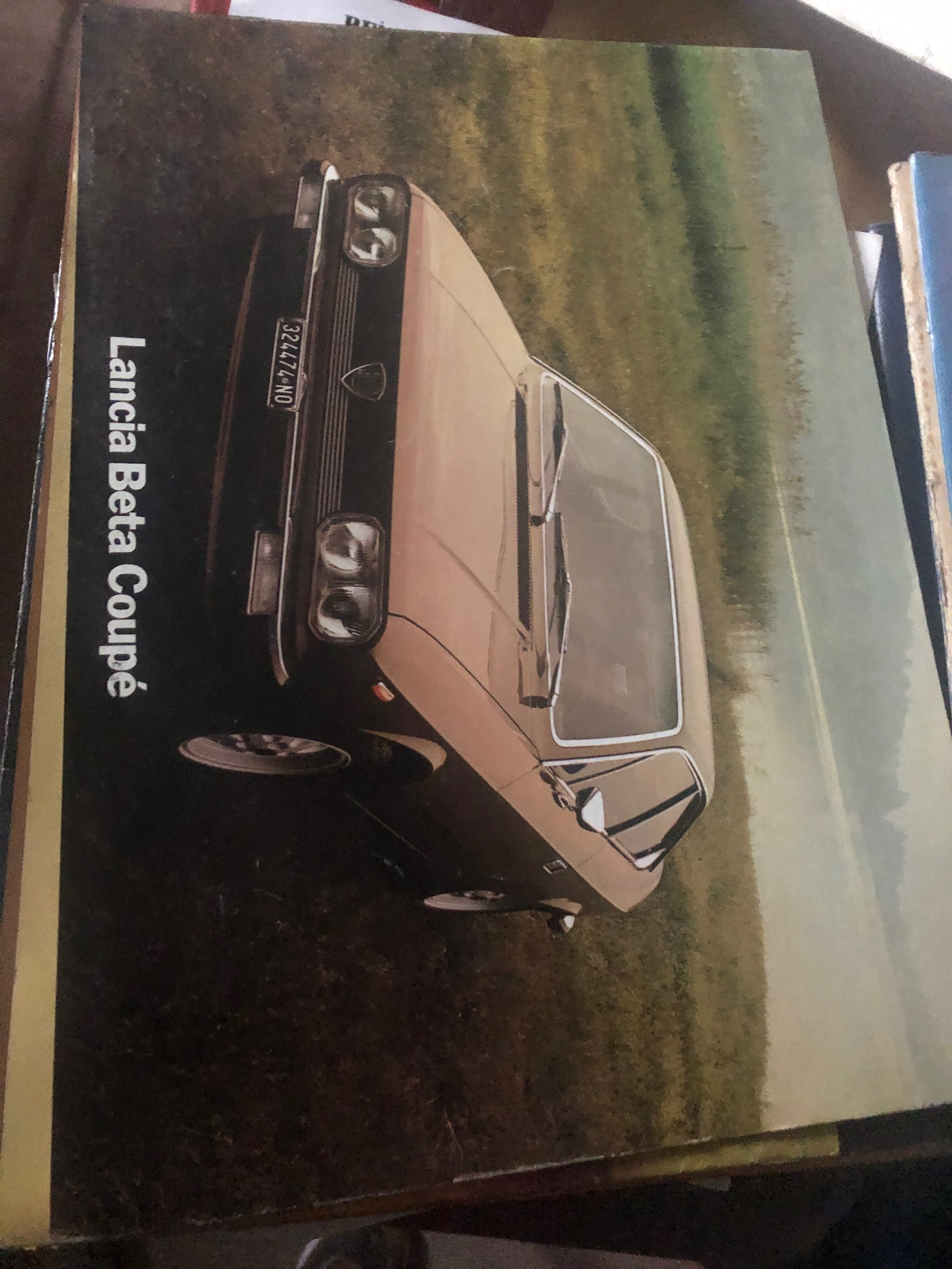 Brochure Lancia Beta Coupè