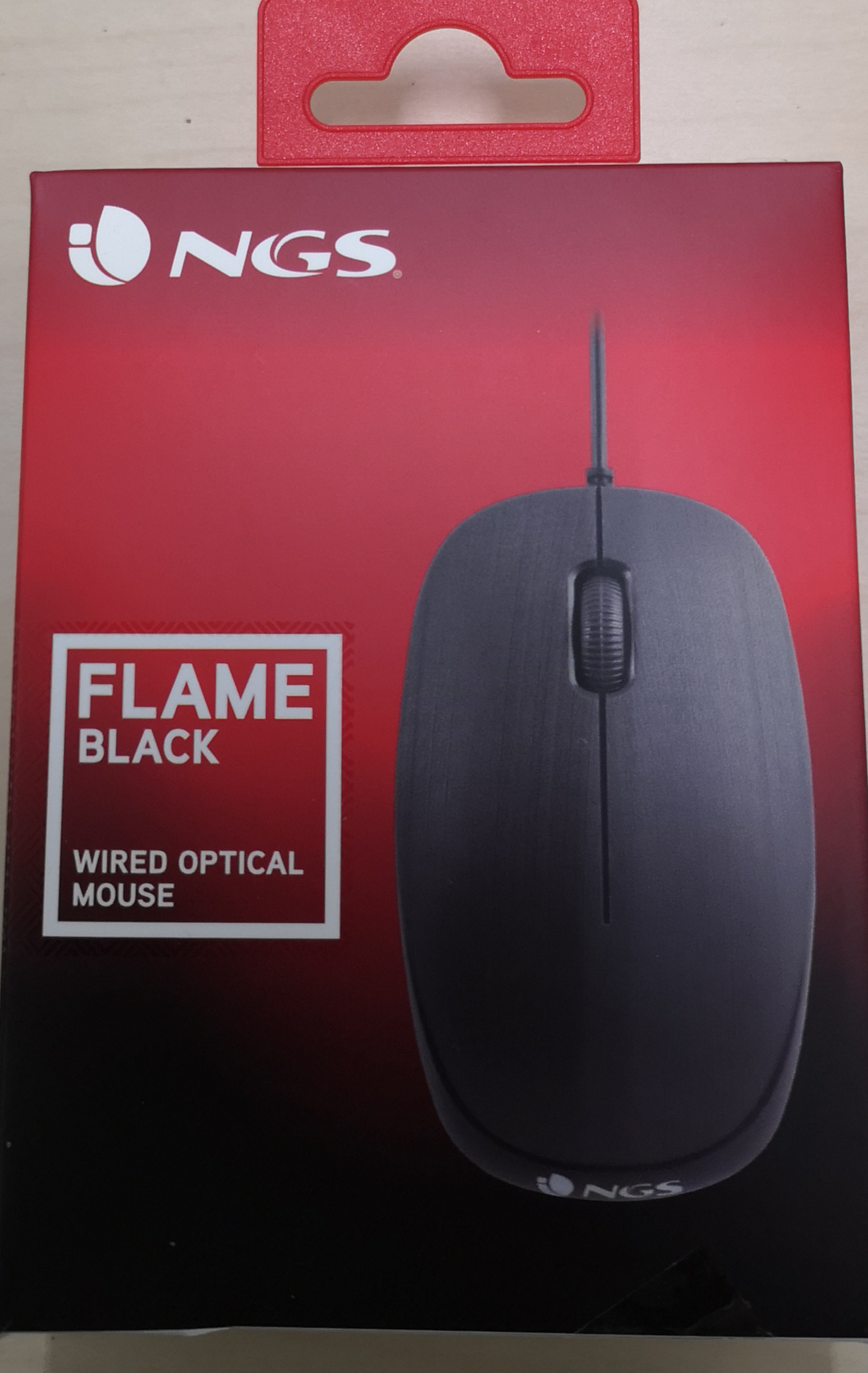 Mouse usb flame