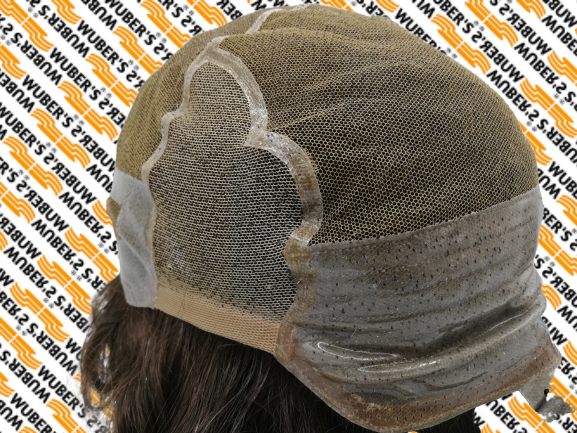 parrucche con calotta in silicone