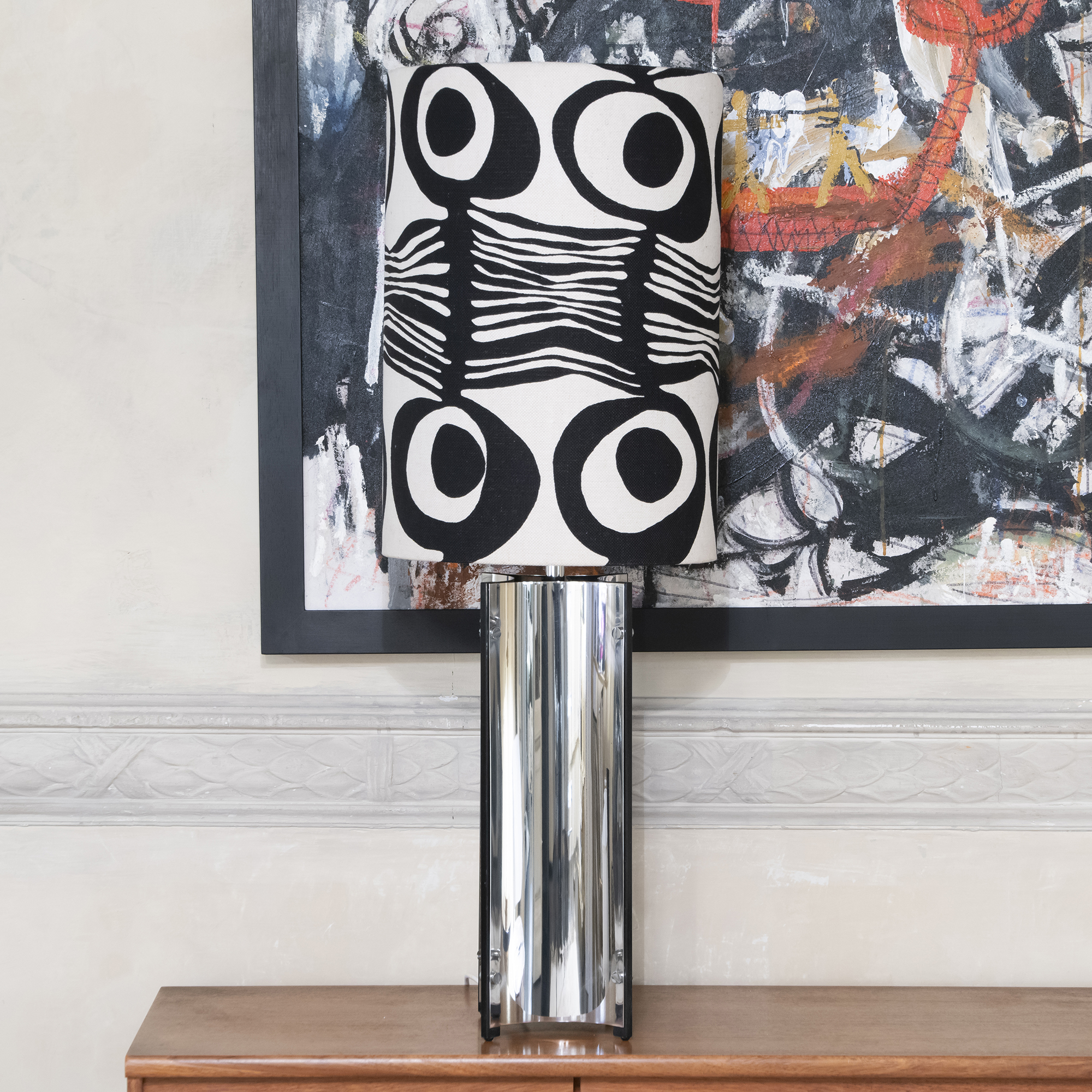 1970s Gaetano Sciolari Table Lamp
