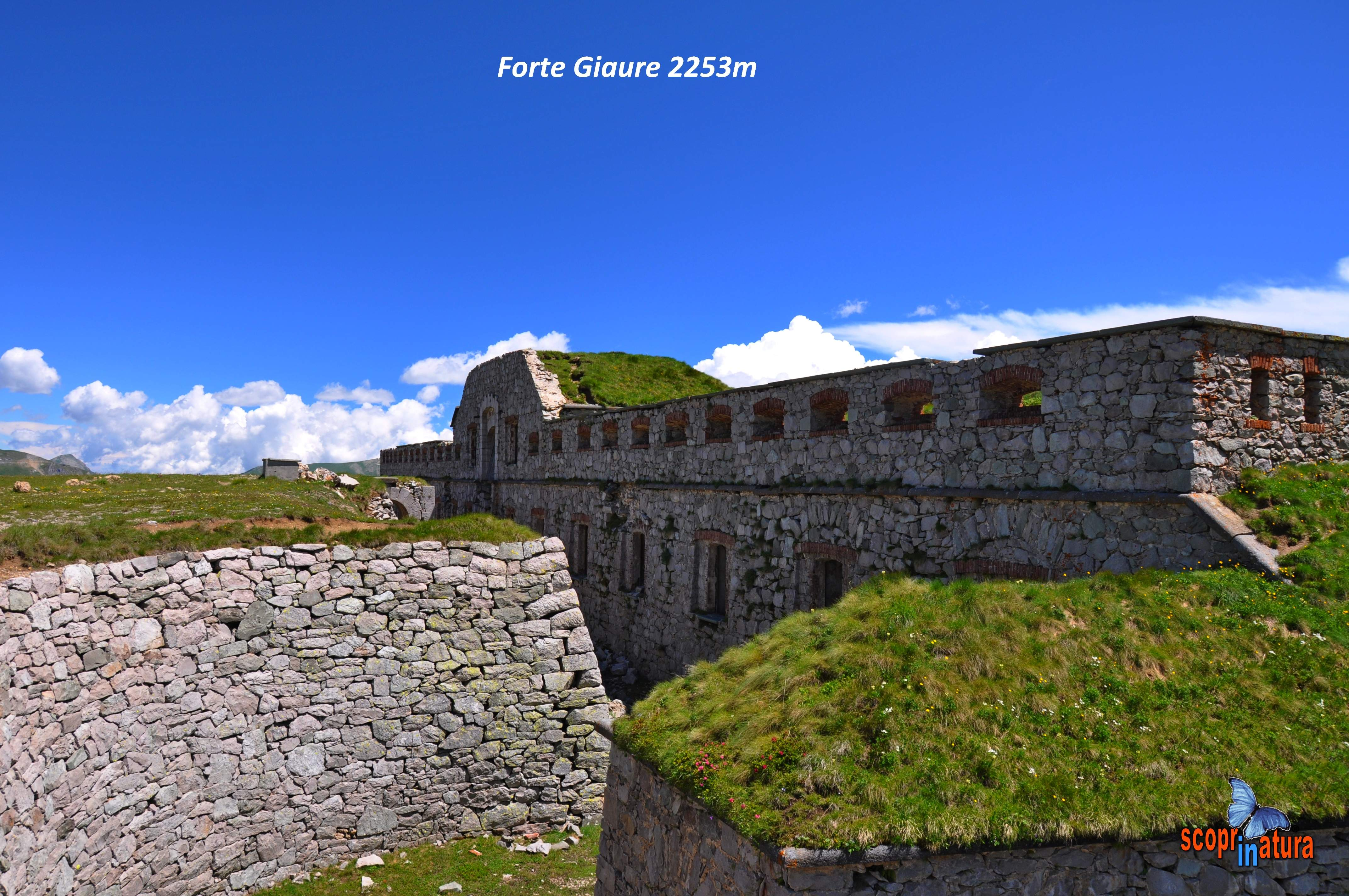 Forte Giaure 2253m