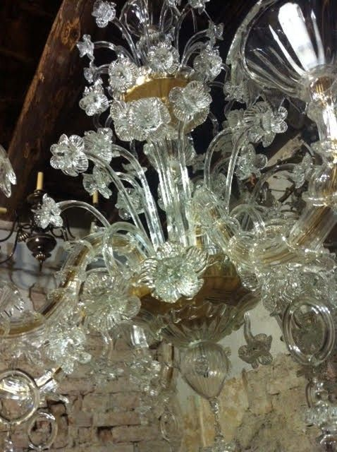Customised Murano glass Chandeliers and Lamps
