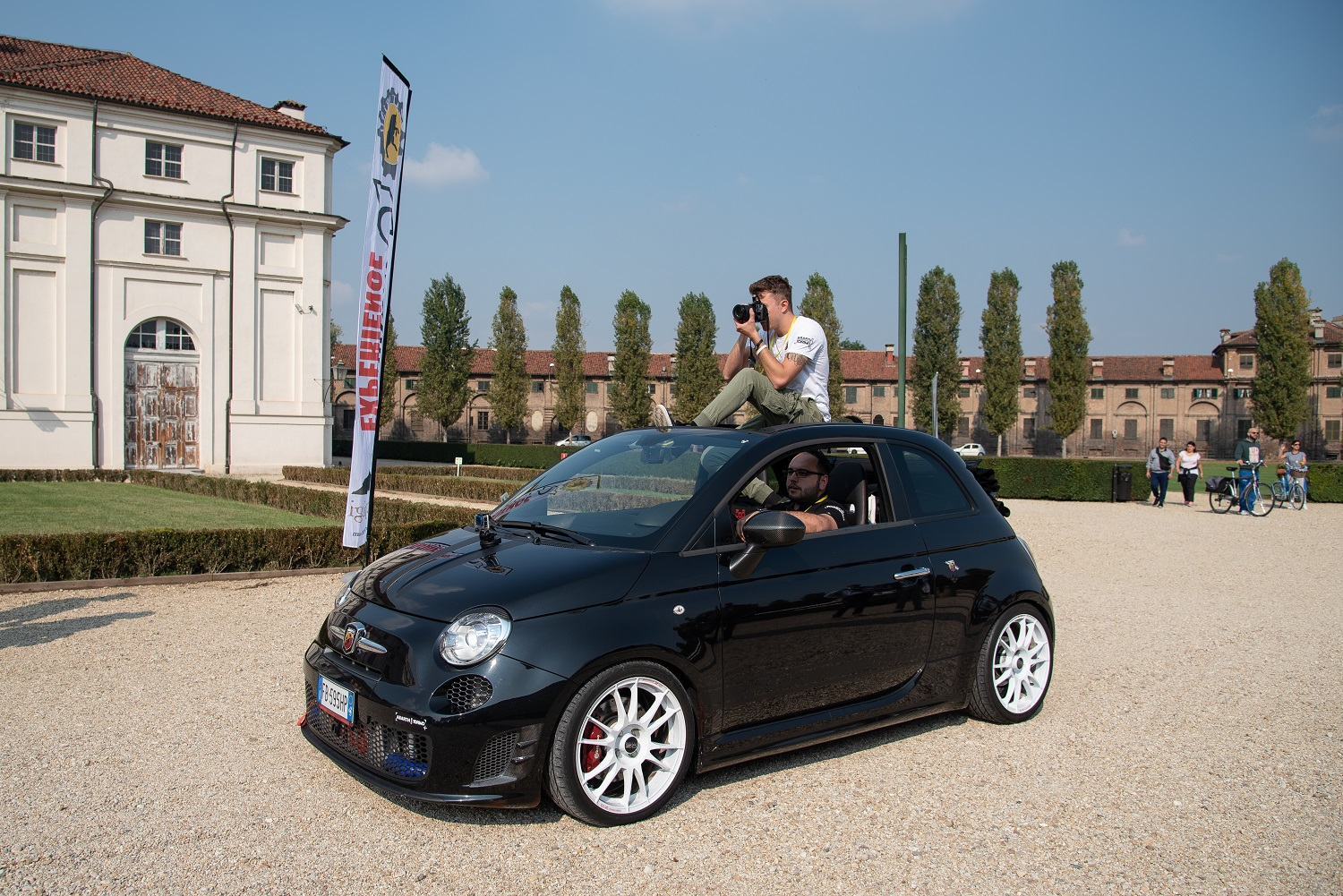 457 STUPINIGI SWEET HOME EXPERIENCE 2018 - ABARTH CLUB TORINO