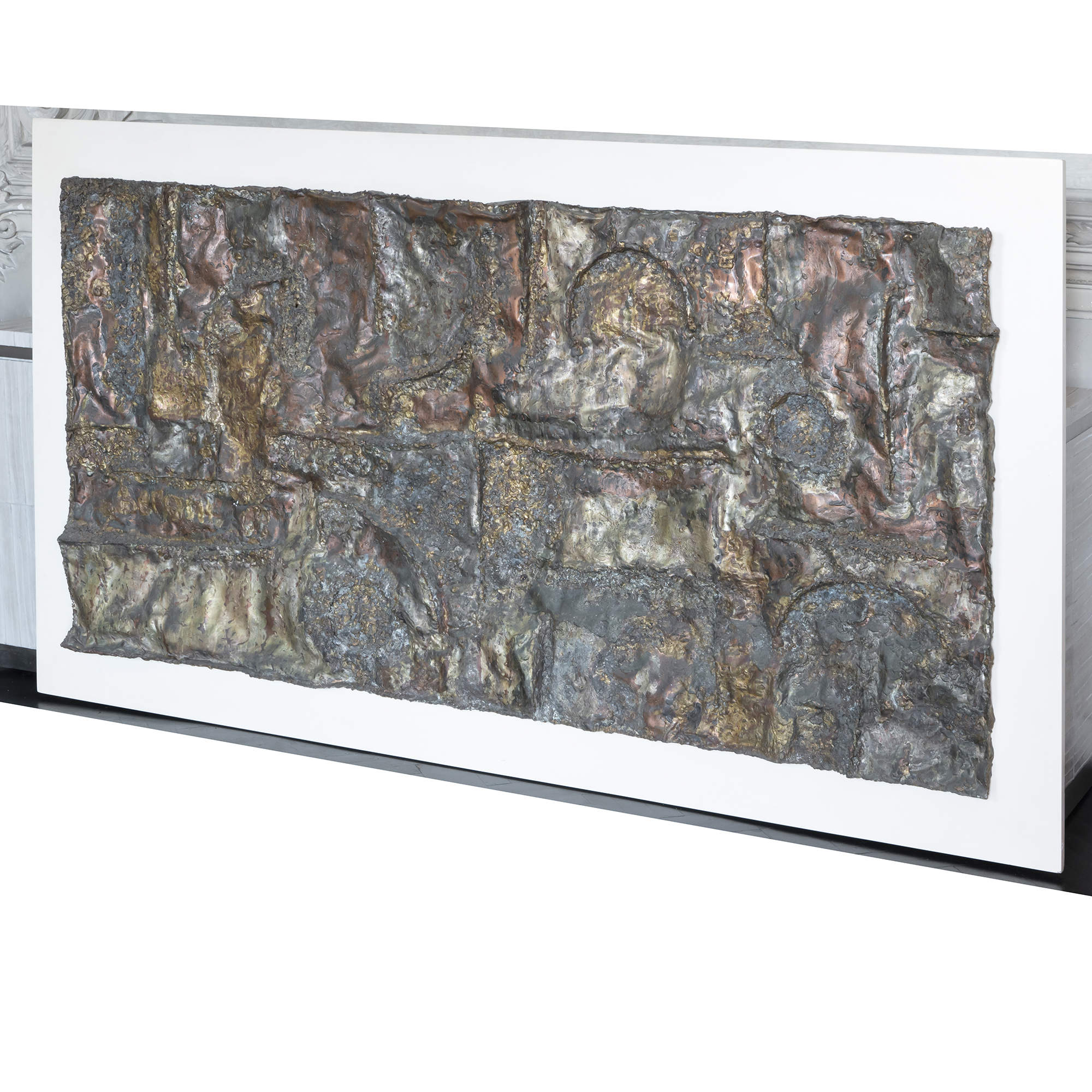 1970s Luigi Bersani Sculptural Wall Panel