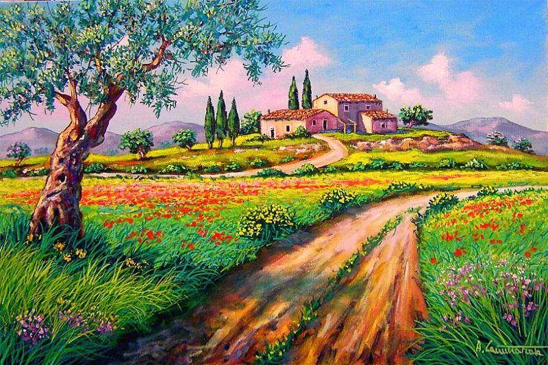 Awesome Quadri Paesaggi Toscani Contemporary - Lepicentre.info ...