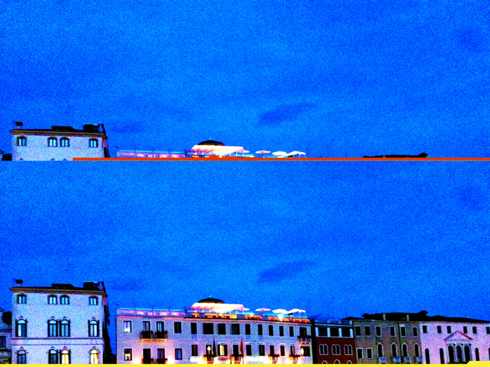 Venetian sunset lights corrupted pic, 2017