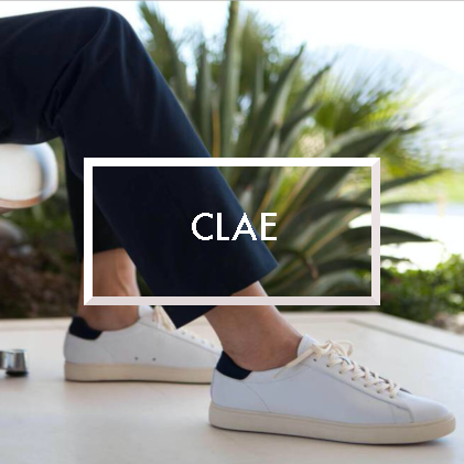 Clae, shoes, Blue Distribution Brand