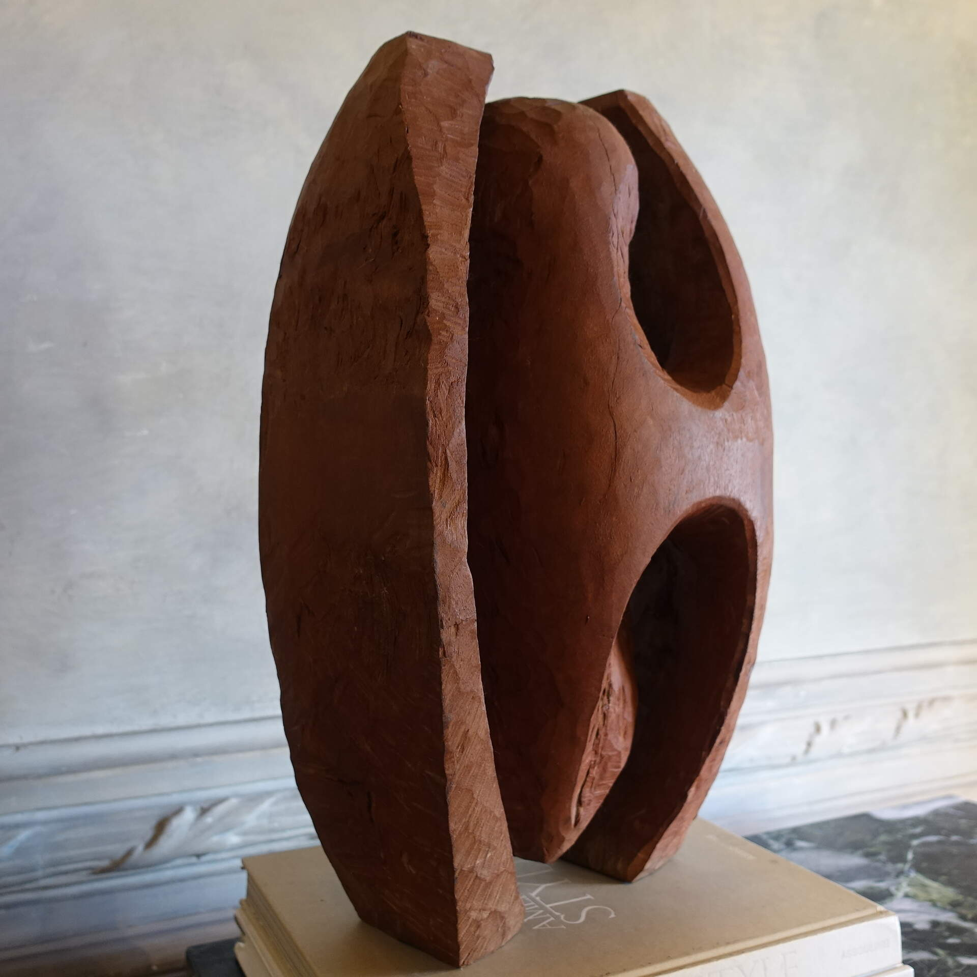 1960s Wood Sculpture by Dragoljub Milosevic