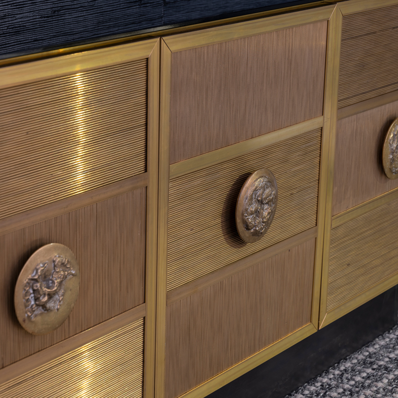 Flair Edition Brass Wire Sideboard, Italy 2020