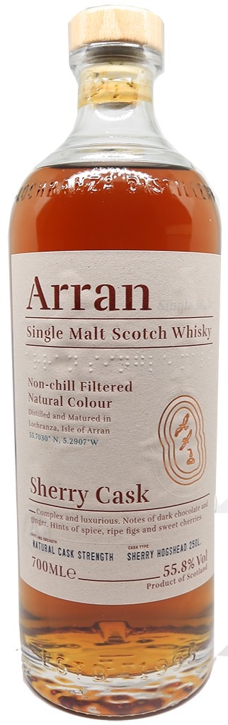 ARRAN SHERRY CASK 'THE BODEGA'