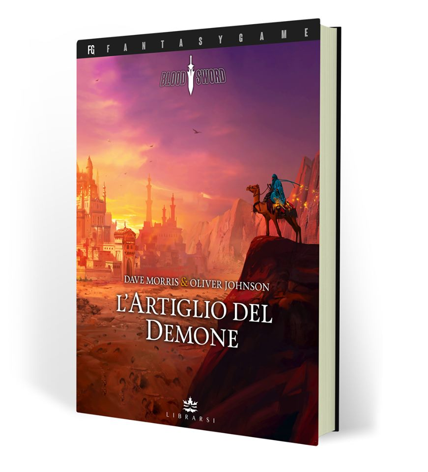 LIBROGAME Blood Sword 3: L'Artiglio del Demone