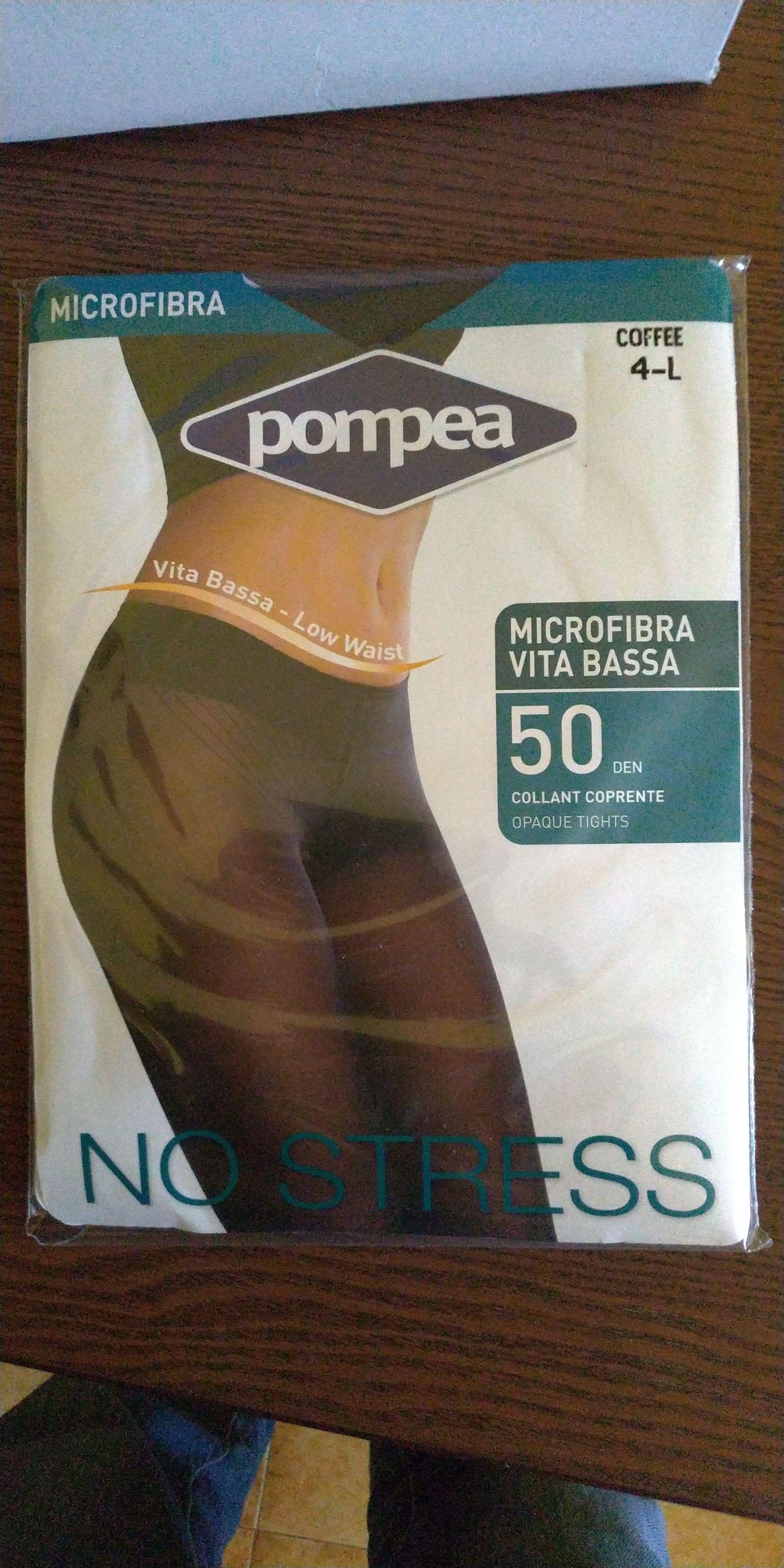 Collant POMPEA SEMPRE 50 denari COPRENTI colore COFFEE