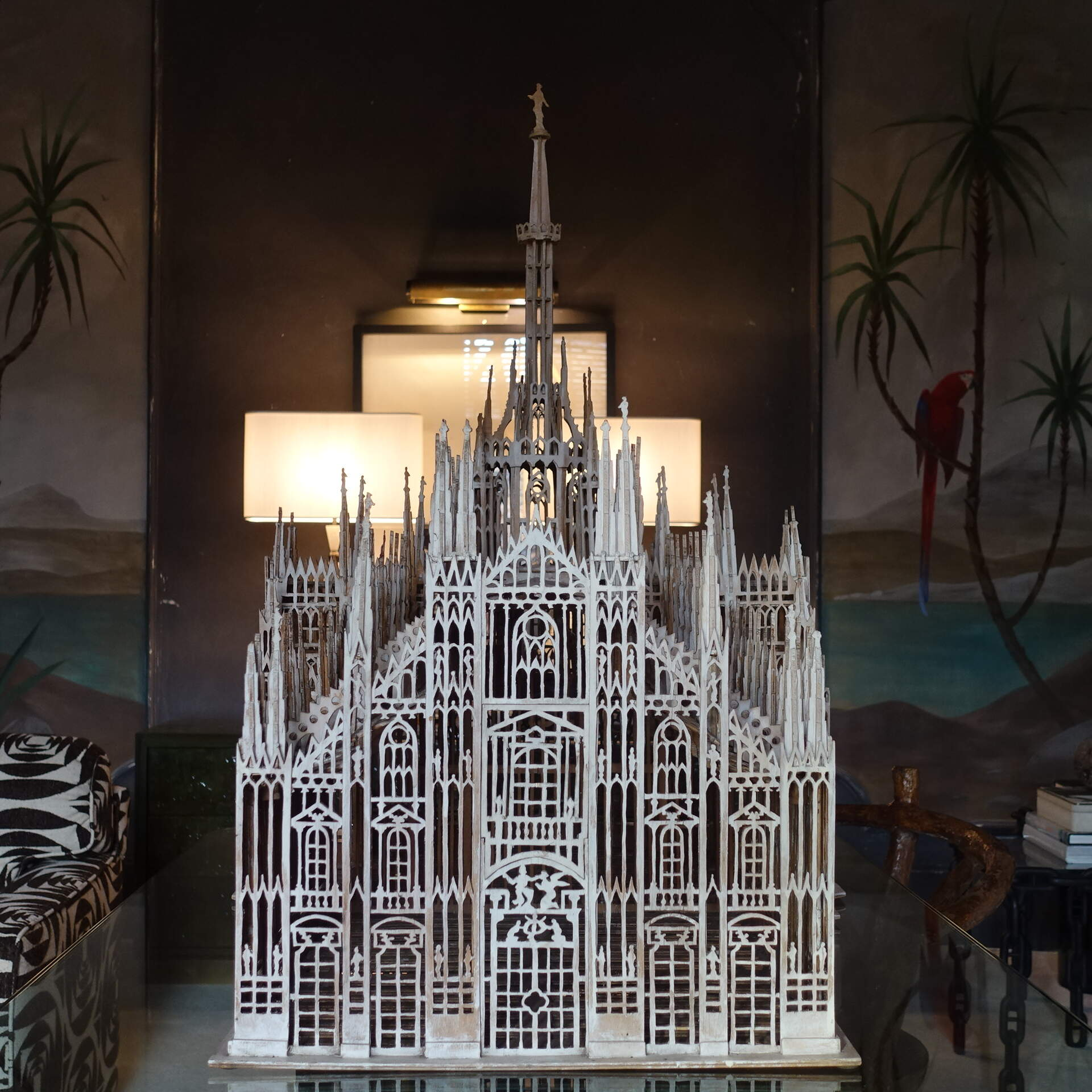 "1950's Architectural Scale Model of the ""Duomo di Milano"""