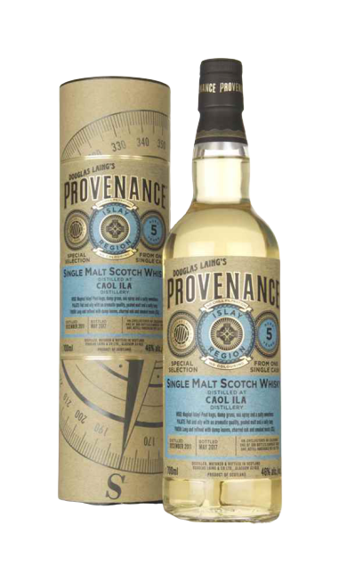 "SINGLE MALT SCOTCH WHISKY CAOL ILA 5 ANNI ""PROVENANCE"""