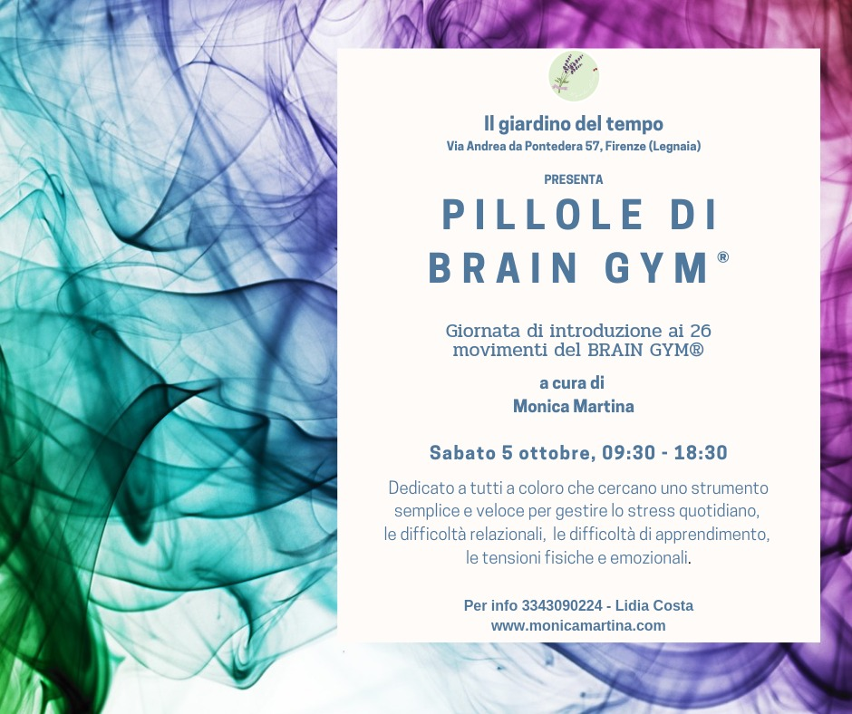 Introduzione al Brain Gym® Firenze 2019