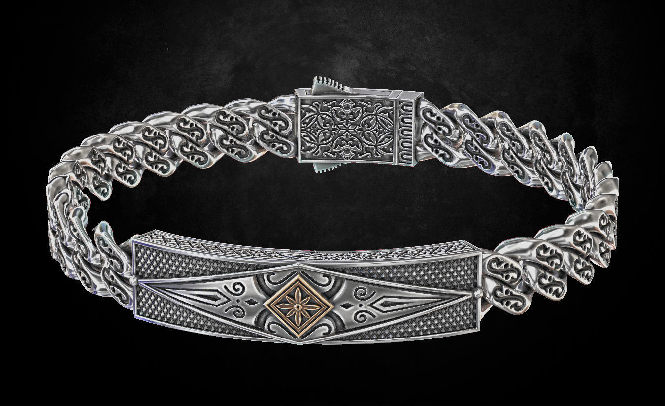 bracciale argento patterns 222