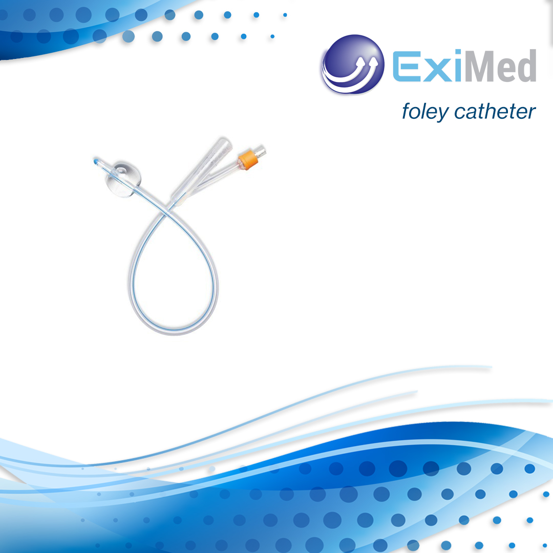 Foley Catheter - Silicone 100%