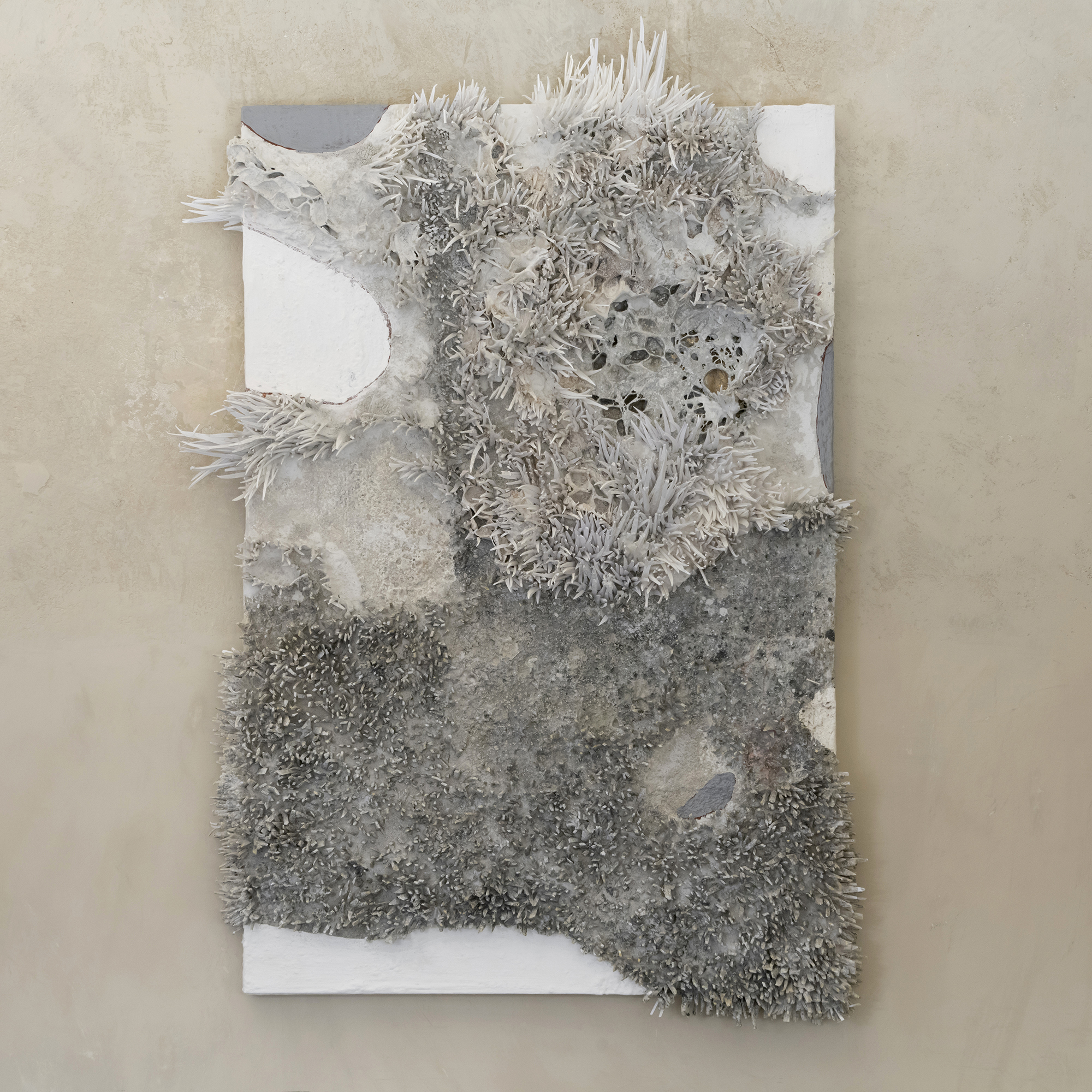 "Matteo Giampaglia ""L'odore della Neve"" Mixed-Media Abstract Art"