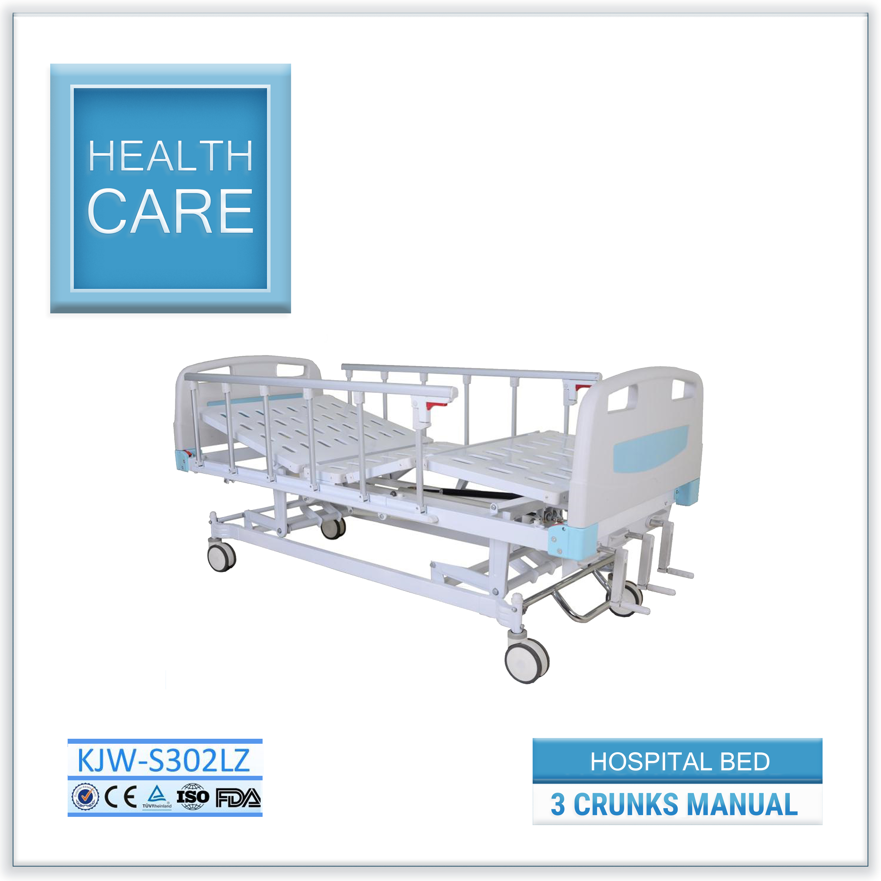 Hospital Bed Series - Three Cranks Manual