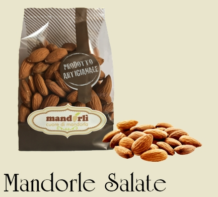 Mandorle salate - Salted almonds