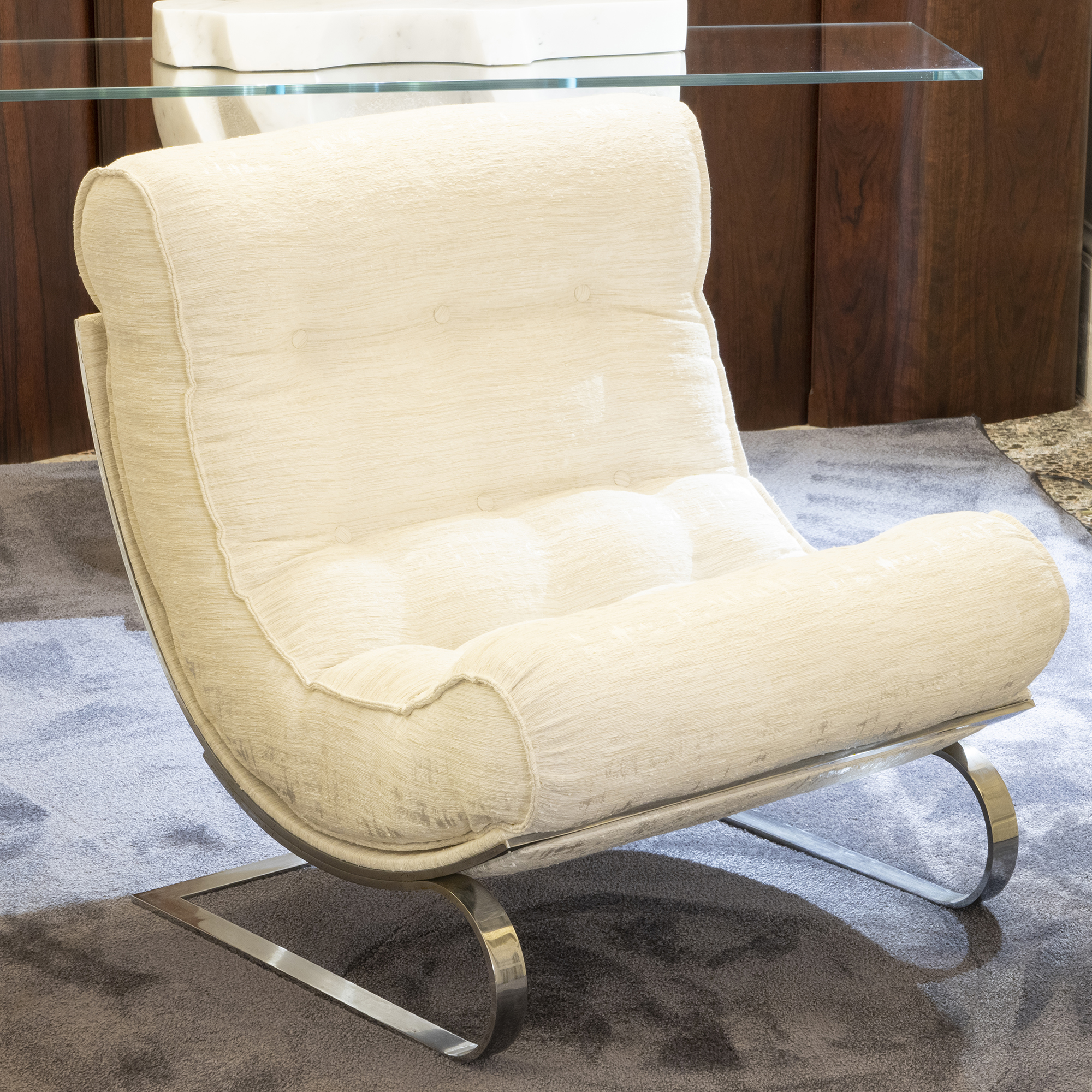 1970s Renato Balestra Lounge Chair