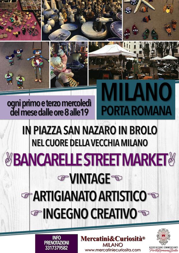 mercatino bancarelle artigianato vintage creatività piazza san nazaro in brolo milano porta romana