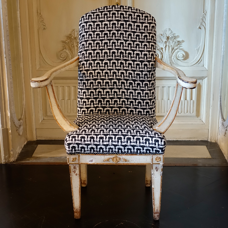 Early 19th Century Swedish Armchair