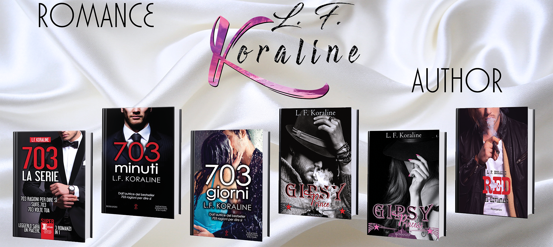 L.F. Koraline | Romance Author