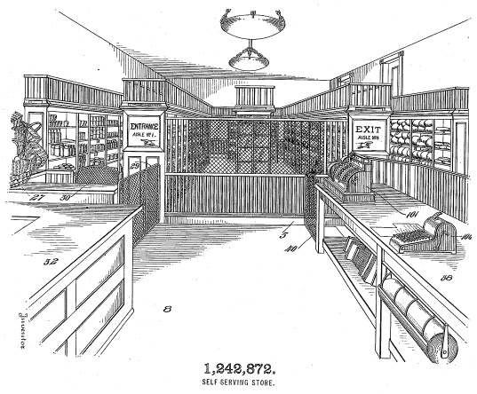 Drawing_of_a_self-service_store_US_Patent_1242872png