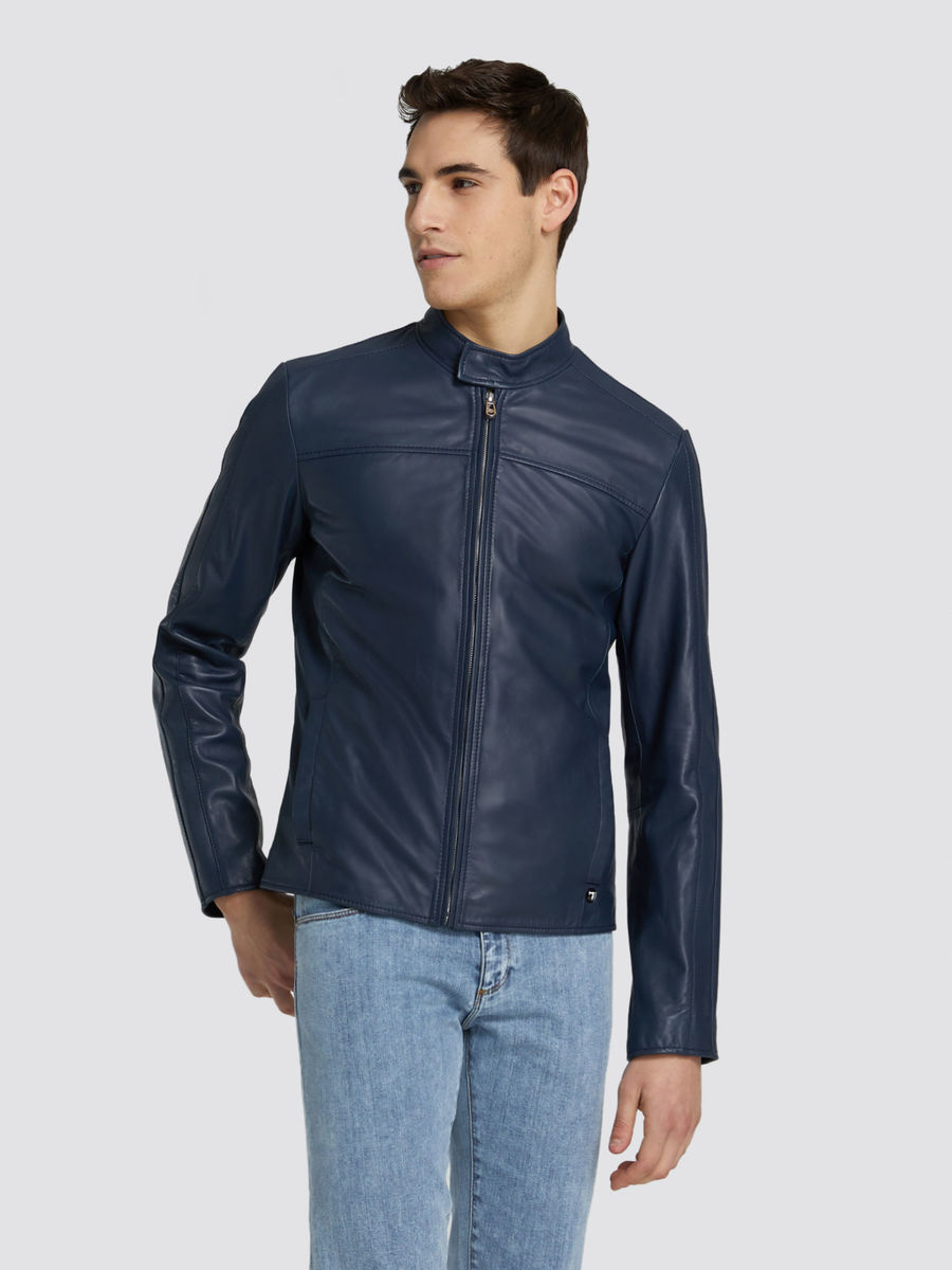 Jacket Leather Trussardi Jeans