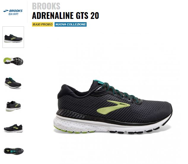 Adrenaline GTS 20 018 - Black/Lime/Blue Grass 110307